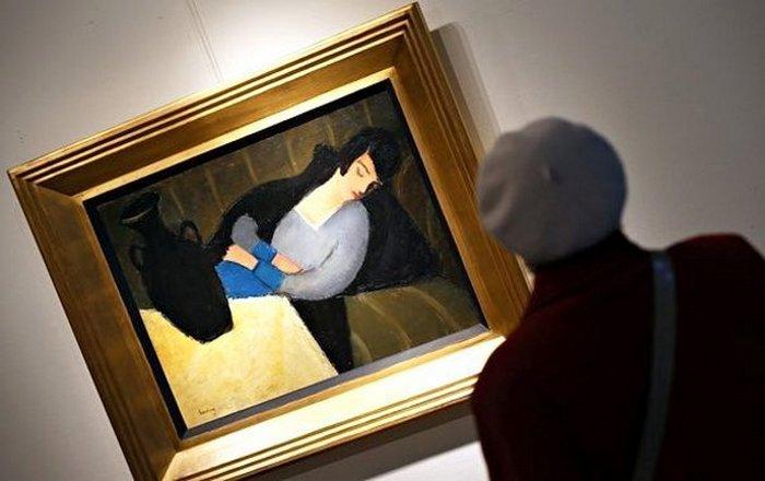 Неожиданная находка: «Спящая Леди с Черной Вазой».