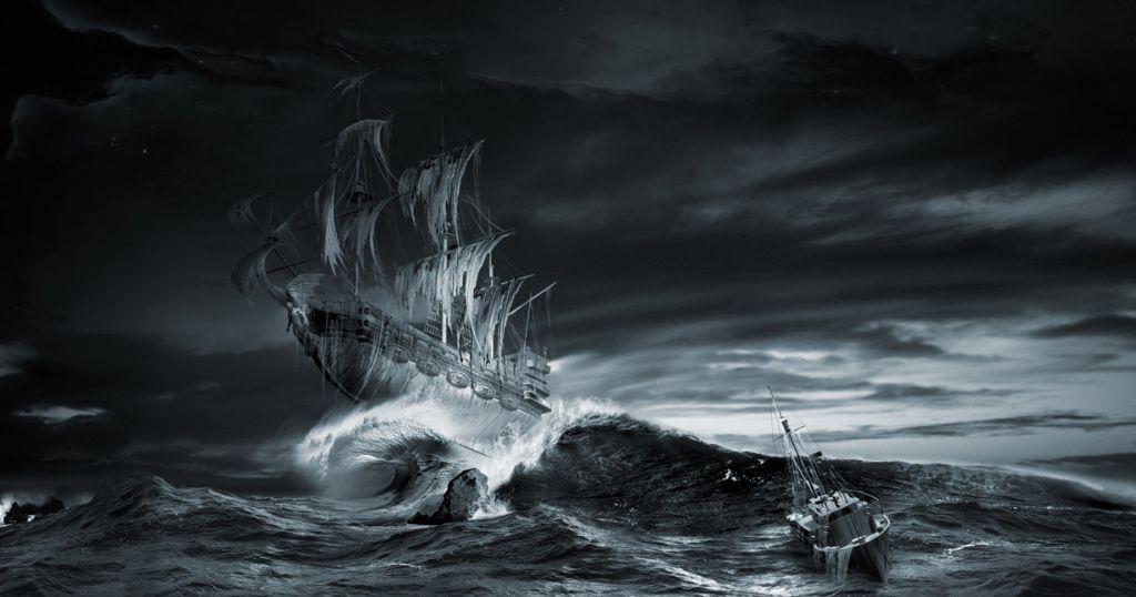 «Октавиус» – ледяной корабль-призрак. Взорам очевидцев открылась ужасная картина